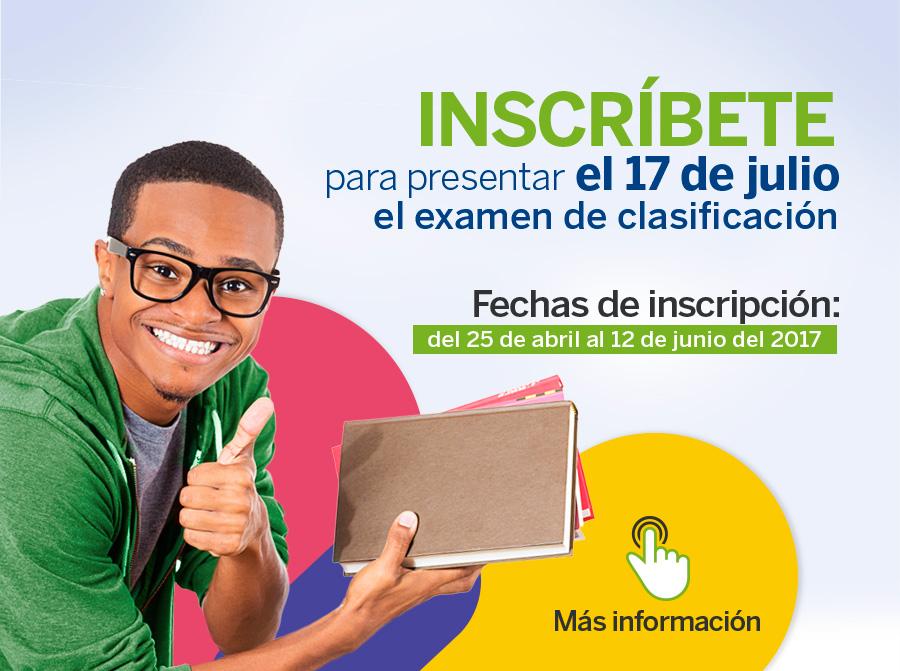 Examen de clasificación